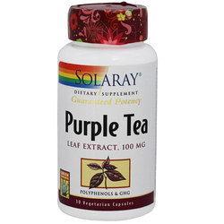 Solaray Purple Tea Leaf Extract