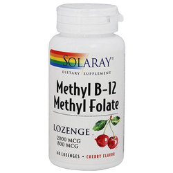 Solaray Methyl B12 Methyl Folate
