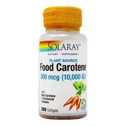Solaray Food Carotene Natural