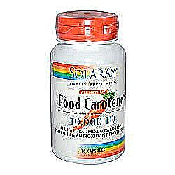 Solaray Food Carotene Natural