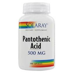 Solaray Pantothenic Acid