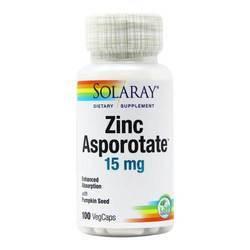 Solaray Zinc Asporotate 15 mg