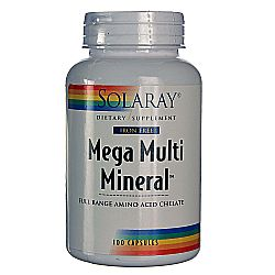 Solaray Multi Mineral Mega