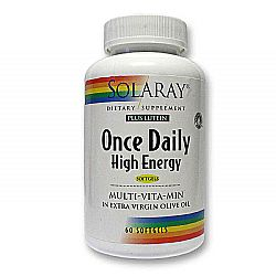 Solaray Once Daily High Energy wLutein