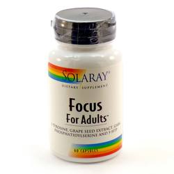 Solaray Focus for Adults