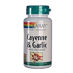 Solaray Cayenne  Garlic