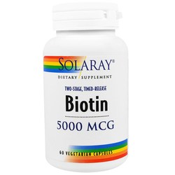 Solaray Two-Stage Biotin