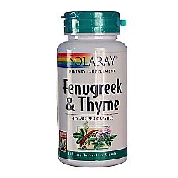Solaray Fenugreek  Thyme
