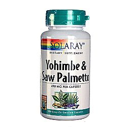 Solaray Yohimbe  Saw Palmetto