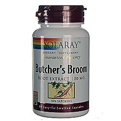 Solaray Butcher's Broom Root Extract