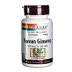 Solaray Ginseng Extract Korean