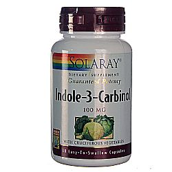 Solaray Indole-3-Carbinol with Vegetables