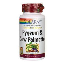 Solaray Pygeum  Saw Palmetto