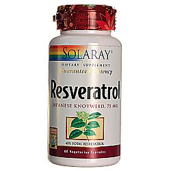 Solaray Resveratrol Japanese Knotweed