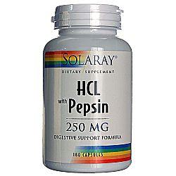 Solaray HCl wPepsin