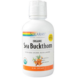 Solaray Organic Sea Buckthorn Juice Blend