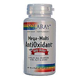 Solaray Mega Multi Antioxidant With Very Berry