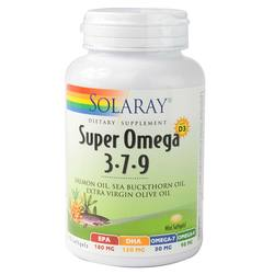Solaray Super Omega 3-7-9 with D3