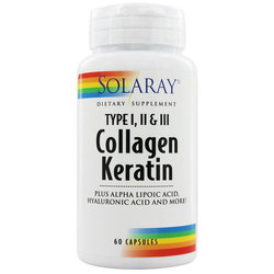 Solaray Collagen Keratin
