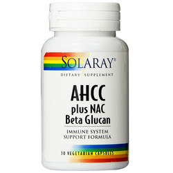 Solaray AHCC Plus Nac and Beta Glucan