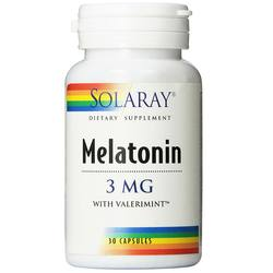 Solaray Melatonin-3 with Valerimint