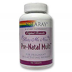 Solaray Baby Me Now Prenatal Multi Original