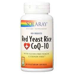 Solaray Red Yeast Rice + CoQ10