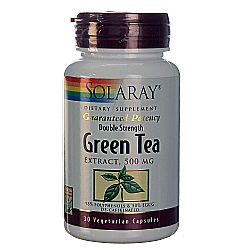 Solaray Green Tea Double Strength