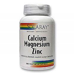 Solaray Calcium Magnesium Zinc