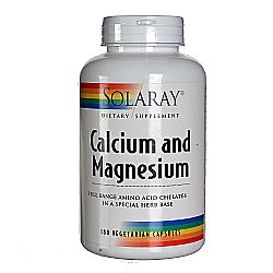 Solaray Calcium And Magnesium