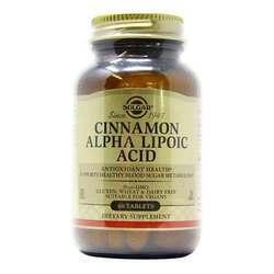Solgar Cinnamon Alpha Lipoic Acid