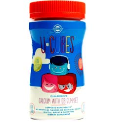 Solgar U-Cubes Children's Calcium with D3 Gummies