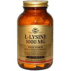 Solgar L-Lysine 1000 mg