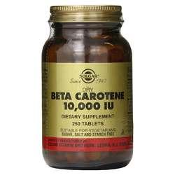 Solgar Dry Beta Carotene 10-000 IU