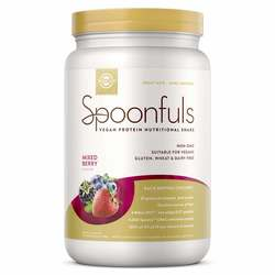 Solgar Spoonfuls Vegan Protein Nutritional Shake Mixed Berry