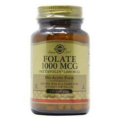 Solgar Folate 1000 mcg as Metafolin