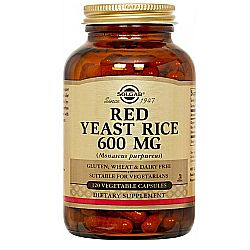 Solgar Red Yeast Rice 600 mg