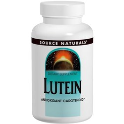Source Naturals Lutein 20 mg
