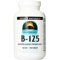 Source Naturals Vitamin B-125 Complex Yeast Free 125 mg