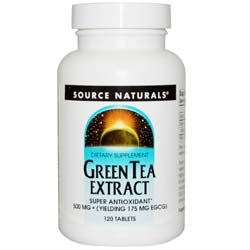 Source Naturals Green Tea Extract 175 mg EGCG 500 mg