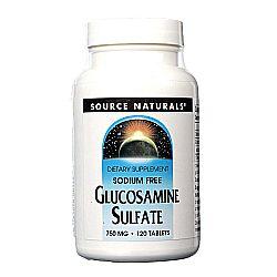 Source Naturals Glucosamine Sulfate 750 mg