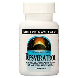 Source Naturals Resveratrol