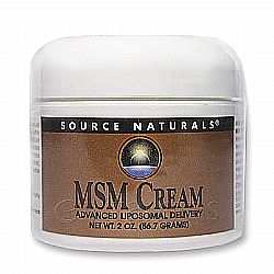 Source Naturals MSM Cream Advanced Liposomal Delivery