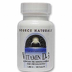 Source Naturals Vitamin D 1000 IU