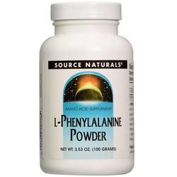 Source Naturals L-Phynyalanine Powder 100g