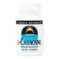Source Naturals L-Carnosine 500 mg