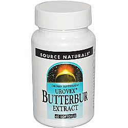 Source Naturals Urovex Butterbur Extract