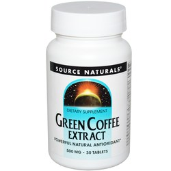 Source Naturals Green Coffee Extract 500 mg
