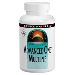 Source Naturals Advanced One Multiple, No Iron