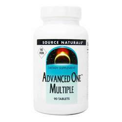 Source Naturals Advanced One Multiple Iron Free